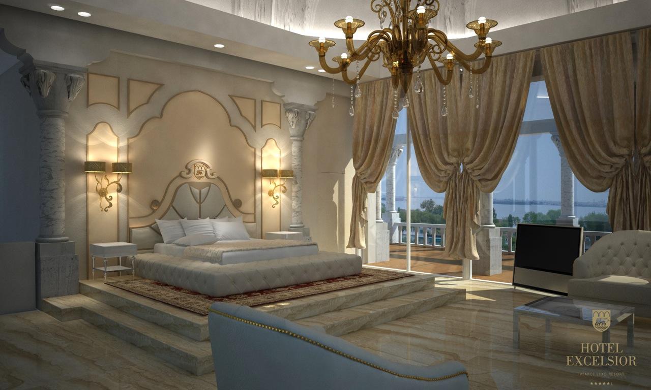 Una super suite all hotel excelsior di venezia webitmag for Hotel di lusso italia