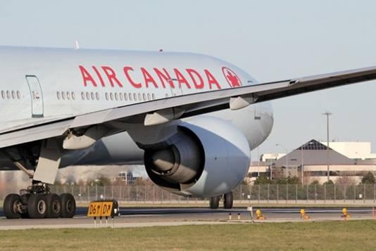 Un aereo Air Canada