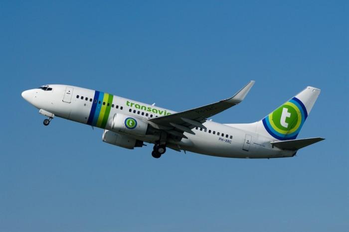Un aereo Transavia.