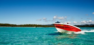 L'isola di Mauritius.
