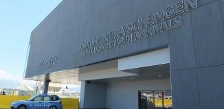 Il nuovo Terminal arrivi di Bergamo-Orio al Serio. scalo gestito da Sacbo.