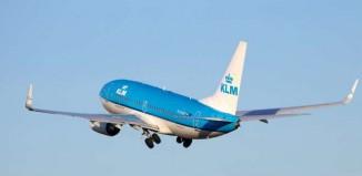 Un aereo KLM.