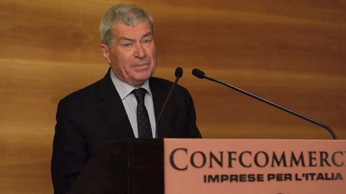 Carlo Sangalli, Presidente Confcommercio
