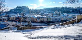 Salisburgo d'inverno.