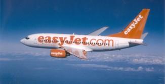 Un aereo easyjet.