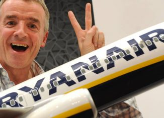 Micheal O'Leary Ryanair