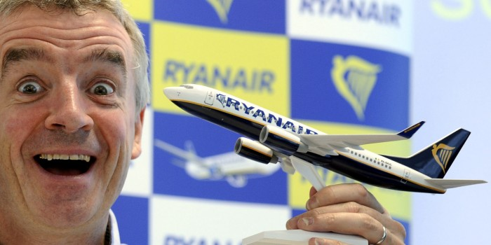 Michael O' Leary, Amministratore delegato di Ryanair (http://webitmag.it/)