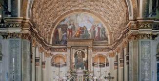 """La prospettiva illusoria di Donato Bramante nella chiesa di Santa Maria presso San Satiro, uno dei """"tesori"""" di Milano aperti al mondo per Expo"""