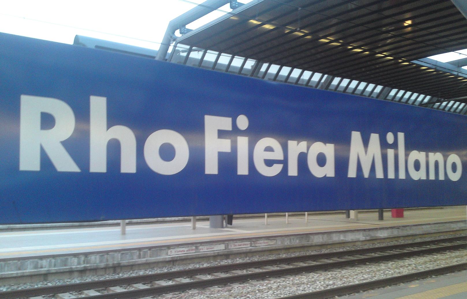Per expo 380 treni al giorno e sconto del 40 con italo for Fiera milano rho