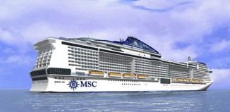 La nuova MSC Meraviglia