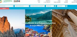 Il nuovo sito wonderfulexpo2015.it per la promozione turistica delle destinazioni di expo