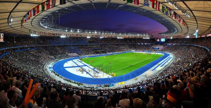 L'Olympiastadione di Berlino