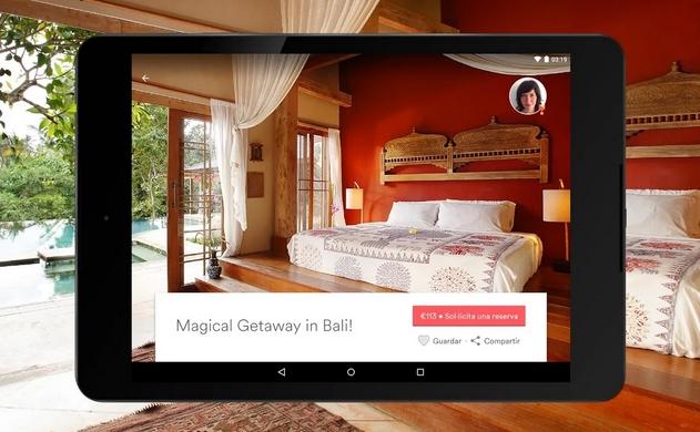 Airbnb su tablet