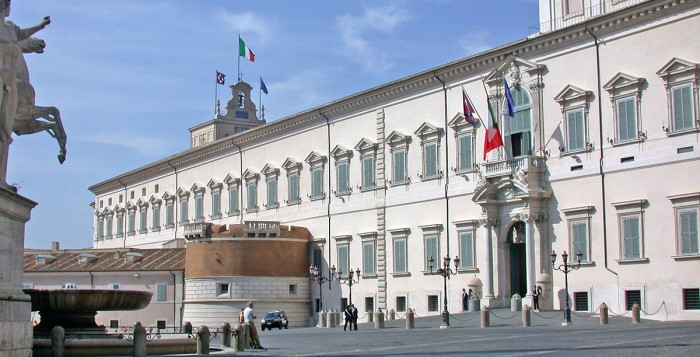 Palazzo del Quirinale visitabile dal 23 giugno