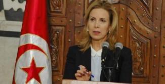 Tunisia Salma Elloumi Rekik, ministro del turismo della Tunisia.