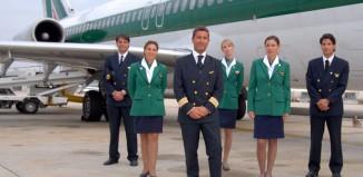 Piloti e assistenti di volo Alitalia