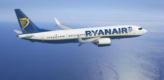 Un aereo Ryanair.
