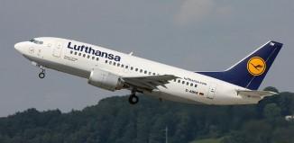 Un aereo Lufthansa.