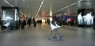 Aeroporto di Fiumicino, photo by Thierry Caro on Wikipedia.org