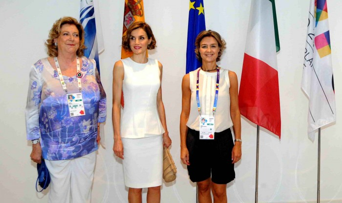 La Regina di Spagna Letizia Ortiz. Ph. Daniele Mascolo
