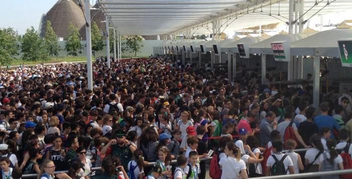 Expo 2015, ingresso Triulza
