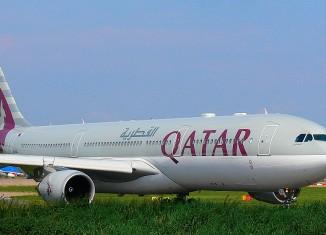 Qatar Airways, photo by 54north on wikipedia.org