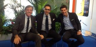 Sergio Testi, Luca Battifora e Giorgio Trivellon