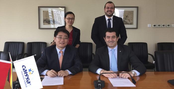 La presentazione dell'accordo fra MSC Crociere e Caissa Touristic Group