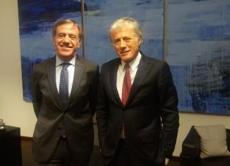 Franco Gattinoni e Sergio Testi