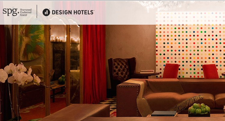 una selezione di design hotels entra in starwood preferred