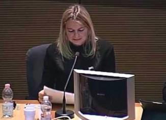 Claudia Bugno (foto da Youtube)