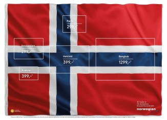norwegian airlines flag