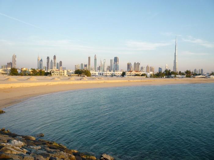 Vista di Dubai da Jumeirah, photo credit: Paul Wilhelm su Wikipedia.org
