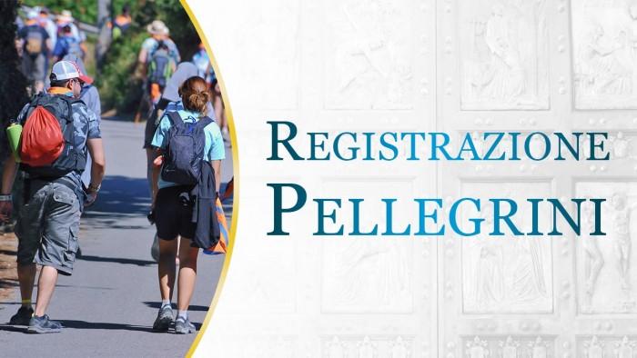 registrazione pellegrini giubileo roma 2016