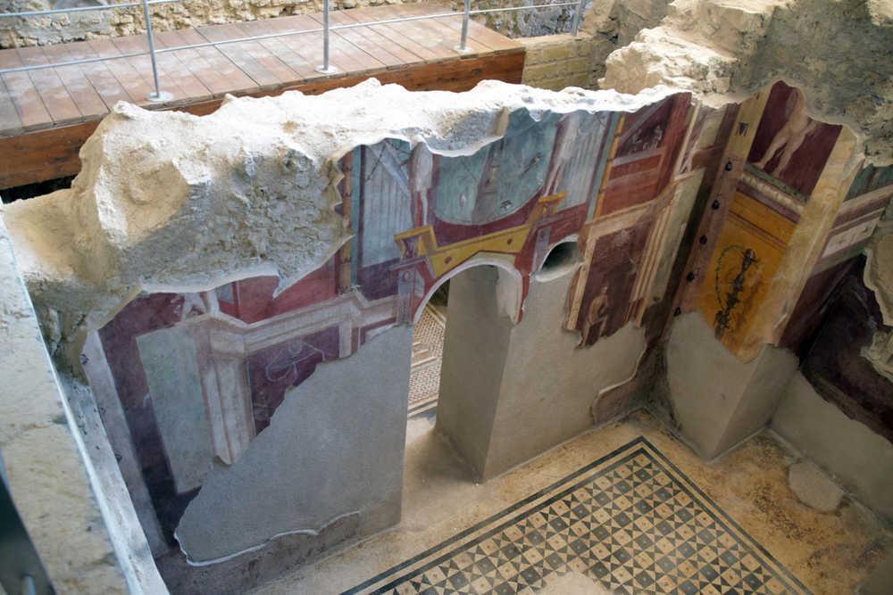 Pompei, Casa del Crioptoportico Regio I 6,2-16 - Epoca di scavo 1911/1929
