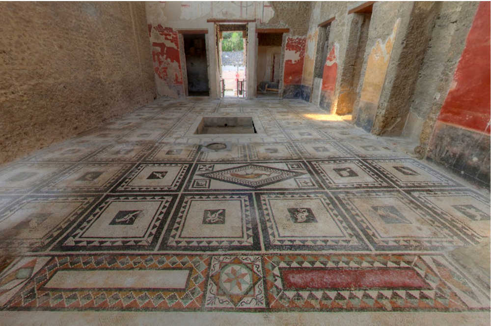 Pompei, Casa di Pasquius Proculus Regio I 7,1 - Epoca di scavo 1911/1912, 1923/1926