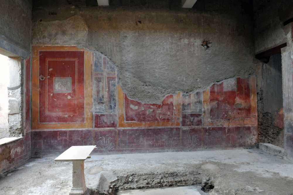 Pompei, Casa di Fabius Amandio Regio I 7,2-3 - Epoca di scavo 1912, 1922/1924