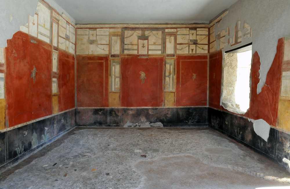 Pompei, Fullonica di Stephanus Regio I 6,7 - Epoca di scavo 1912/1914