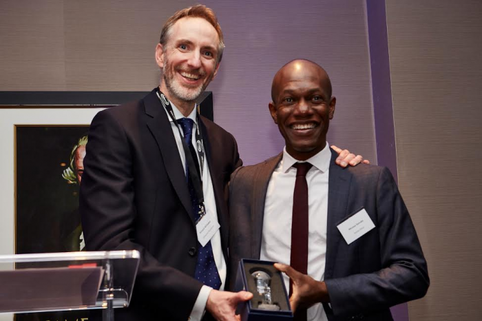 Moussa Samake, head of corporate sales team Halldis, e Richard Whittaker, director supplier management EMEA Oakwood Worldwide