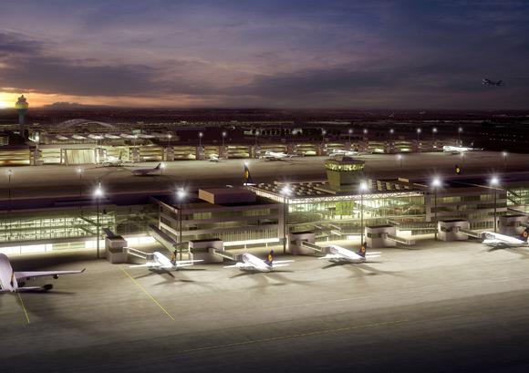 Aprirà ad aprile il nuovo t satellite dell aeroporto di monaco