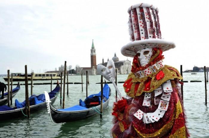 Carnevale di Venezia. Foto: Matteo-Bertolin Unionpress