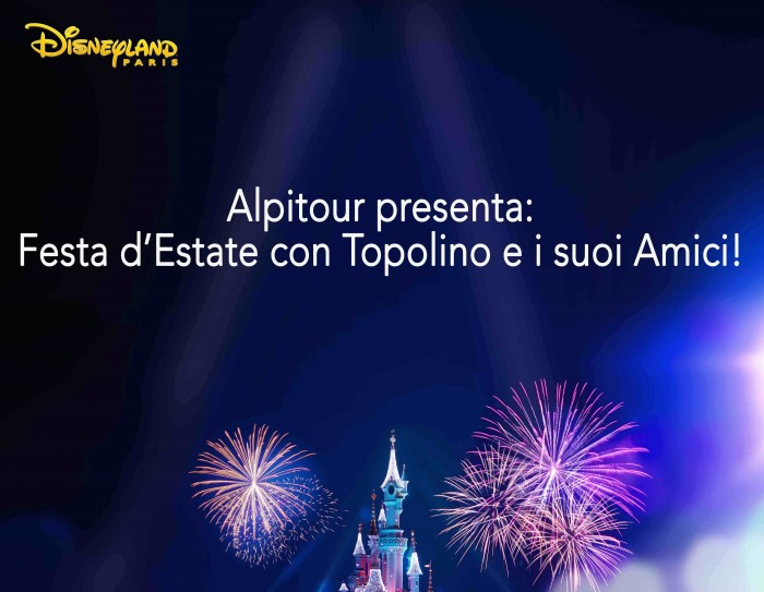 Alpitour e Disneyland Paris