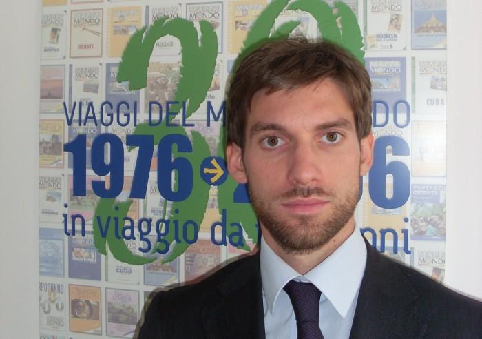 Francesco Maio, direttore commerciale Mappamondo.