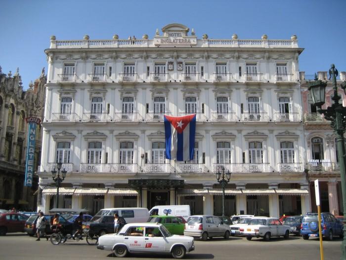 Hotel Inglaterra, l'Avana, Cuba.
