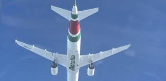 Un A319 di Alitalia