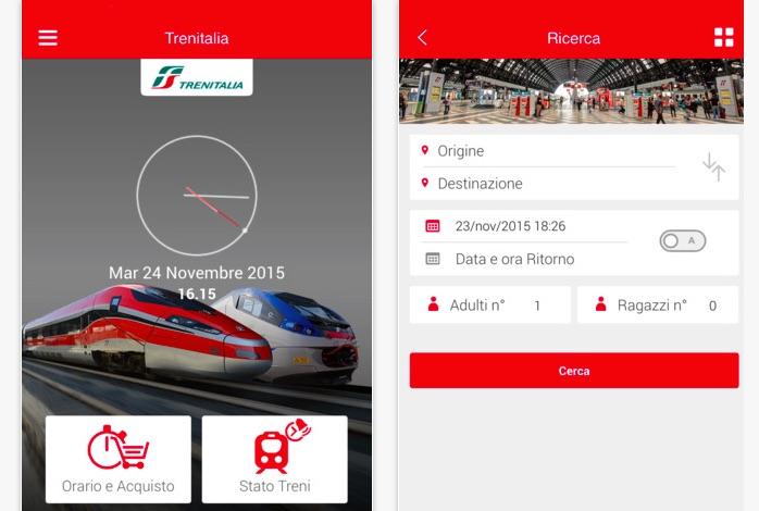 App Trenitalia