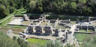 Il sito archeologico di Butrinto, Albania.