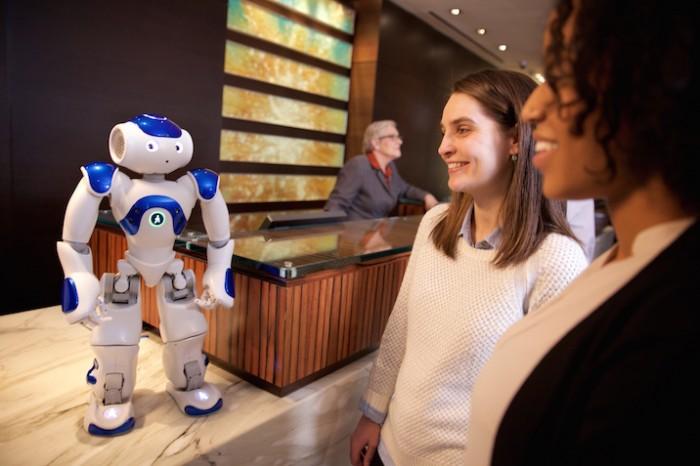 Connie, il robot concierge