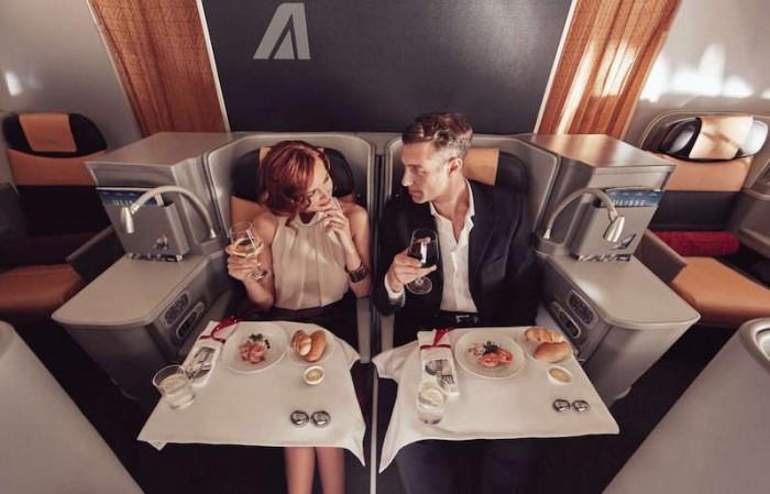 La Business Class Alitalia