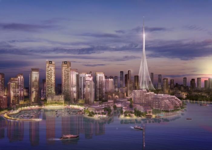 Dubai al via i lavori per il grattacielo pi alto del - Dubai grattacielo piu alto ...